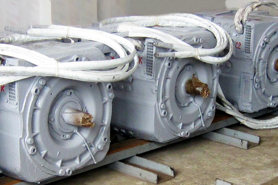 Станция <span>модели БЕР-51Д</span> для испытания тяговых электрических двигателей РТ-51 электропоездов серии ЕР9в/і