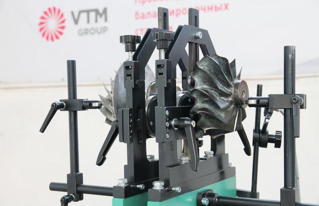 Балансировочный станок для роторов турбин когенерационных установок